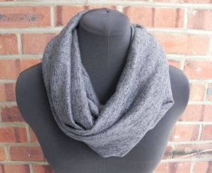 INFIN SCARF - Gray:Black2